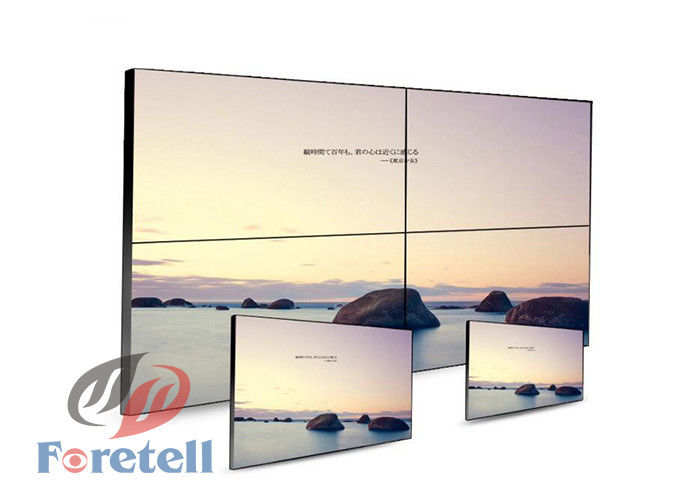 LED Backlight HD Seamless LCD Video Wall Display For Shopping Centers