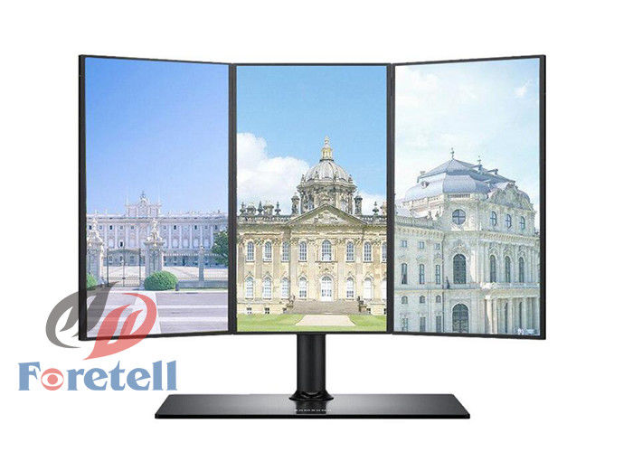 HDMI VGA Signal LCD Video Wall System With Bezelless Monitor 178° Viewing Angle