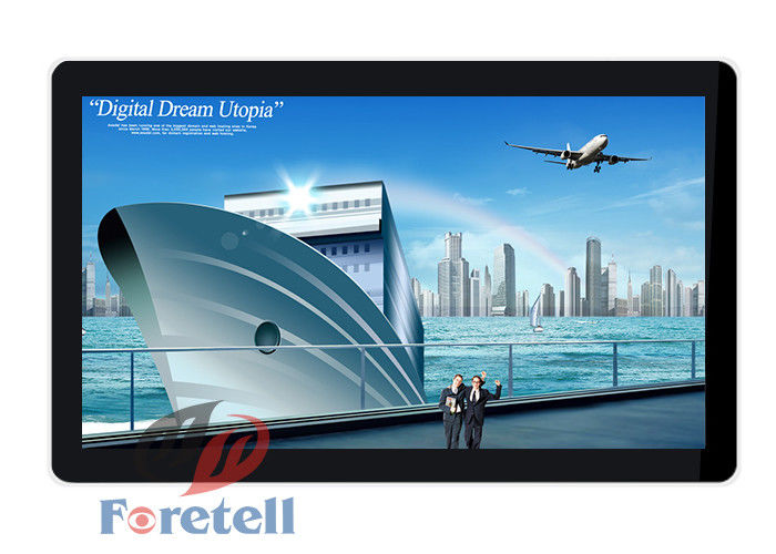 Android System Wall Mounted Digital Signage Lcd Screen With Led Backlight