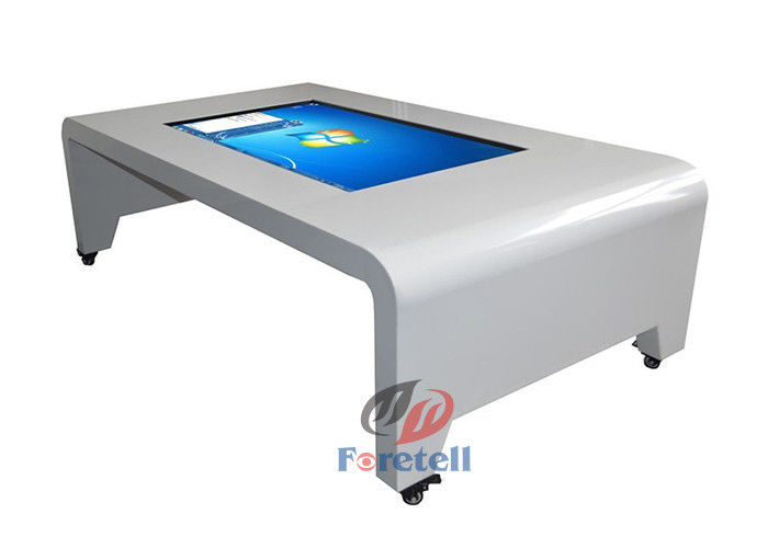 Stand Alone Touch Screen Conference Table , Large Format Touch Screen Monitor