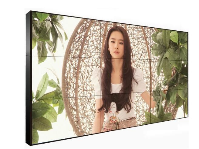 High Resolution 3.5mm 4x4 Digital Signage Video Wall Displays With One Year Warranty