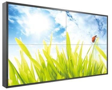 1080P Ultra Narrow Bezel Video Wall Lcd Led Blacklight Multi Input Output