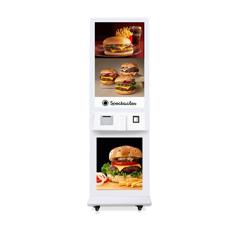 Fast Food Wireless Self Ordering Restaurant Advertising System/Kiosk
